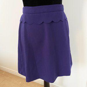 Purple Skirt size 2 by Banana Republic